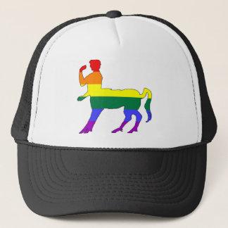 Gorra De Camionero Centaur #2 del orgullo de GLBT