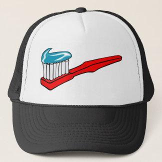 Gorra De Camionero Cepillo de dientes y crema dental