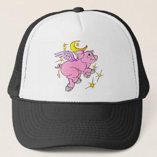 Gorra De Camionero Cerdo rosado #003 del vuelo