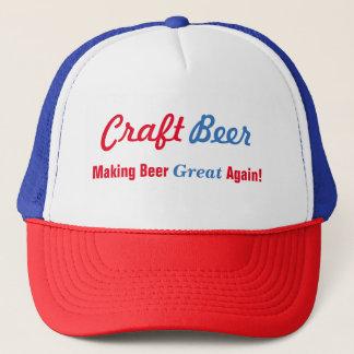 Gorra De Camionero Cerveza del arte