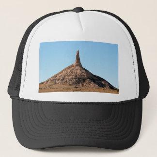 Gorra De Camionero Chapitel de la roca de la chimenea de Scottsbluff