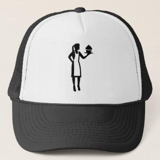 Gorra De Camionero Chef de repostería de sexo femenino