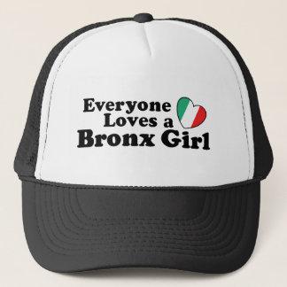 Gorra De Camionero Chica de Bronx del italiano