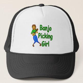 Gorra De Camionero Chica de la cosecha del banjo