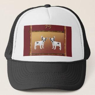 Gorra De Camionero Chino asiático del diseño de los terrieres de Jack
