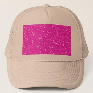 Gorra De Camionero Chispa brillante del purpurina