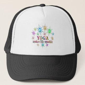 Gorra De Camionero Chispas de la yoga
