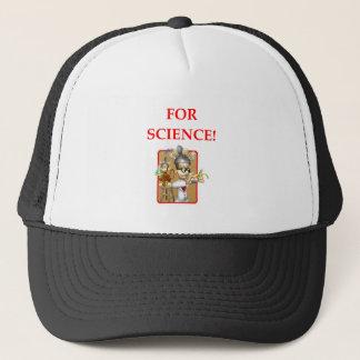 Gorra De Camionero científico enojado