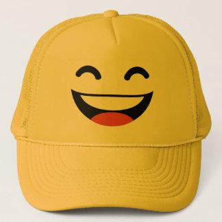 Gorra De Camionero Ciérrese los ojos que ríen emoji