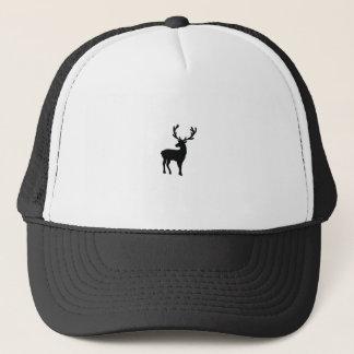 Gorra De Camionero Ciervos blancos y negros