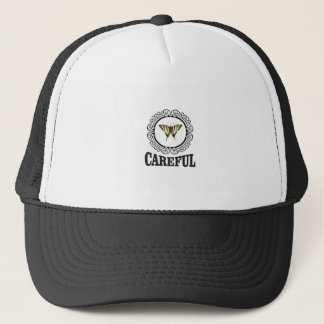 Gorra De Camionero círculo cuidadoso