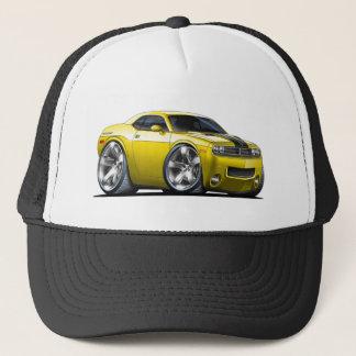 Gorra De Camionero Coche del amarillo del desafiador de Dodge
