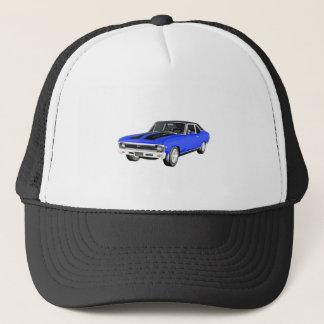 Gorra De Camionero Coche del músculo de 1968 azules