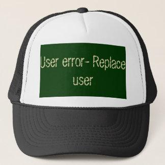Gorra De Camionero Código de error del usuario