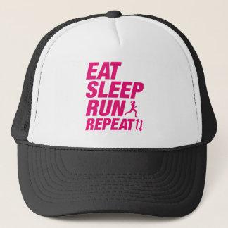 Gorra De Camionero Coma la repetición del funcionamiento del sueño