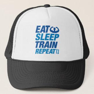 Gorra De Camionero Coma la repetición del tren del sueño