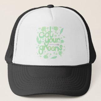 Gorra De Camionero coma sus verdes