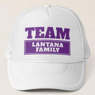 Gorra De Camionero Combine el nombre personalizado púrpura del equipo