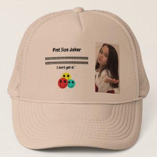 Gorra De Camionero Comodín del tamaño de la pinta: Los botones son