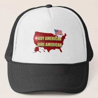 Gorra De Camionero ¡Compre América!  ¡Emplee América!