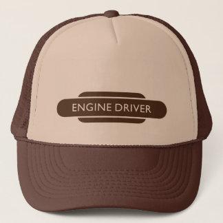 Gorra De Camionero Conductor de motor ferroviario del tótem Brown que