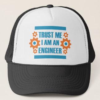 Gorra De Camionero Confíe en que yo es ingeniero