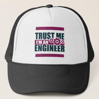 Gorra De Camionero confíe en que yo es ingeniero 3