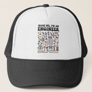 Gorra De Camionero Confíeme en, yo son un ingeniero
