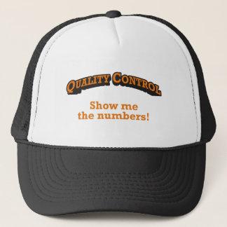 Gorra De Camionero Control de calidad/números