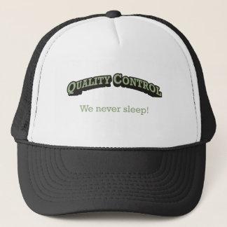 Gorra De Camionero Control de calidad/sueño