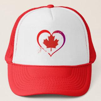 Gorra De Camionero Corazón de Canadá