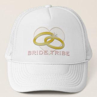 Gorra De Camionero Corazón de los anillos de bodas del oro de la