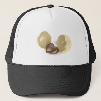 Gorra De Camionero Corazón del chocolate