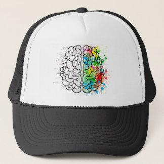 Gorra De Camionero corazones de la idea de la psicología de la mente