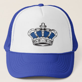 Gorra De Camionero Corona - azul