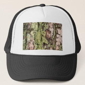 Gorra De Camionero Corteza de árbol de pino de la costa este mojada