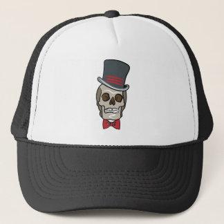 Gorra De Camionero Cráneo de Halloween