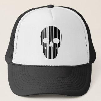 Gorra De Camionero Cráneo del código de barras