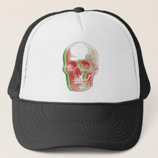 Gorra De Camionero Cráneo tricolor de Rasta