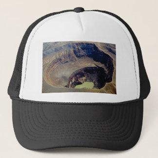 Gorra De Camionero cráter volcánico profundo