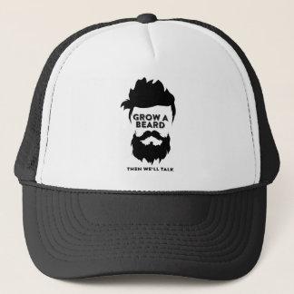 Gorra De Camionero Crezca una barba entonces que hablaremos