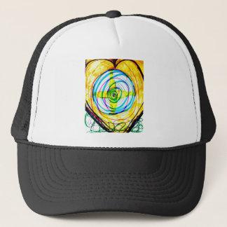 Gorra De Camionero Cruces de Cartoids del fractal y la banda espiral