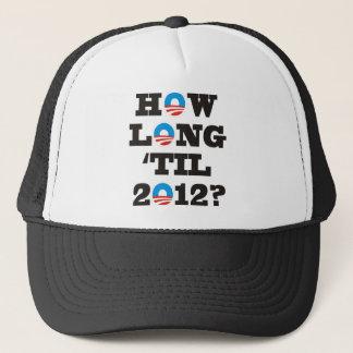 Gorra De Camionero ¿Cuánto tiempo 'hasta 2012?