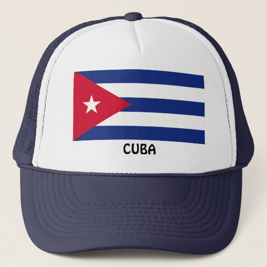Gorra De Camionero CUBA  Bandera cubana  3b43b6c8d7e