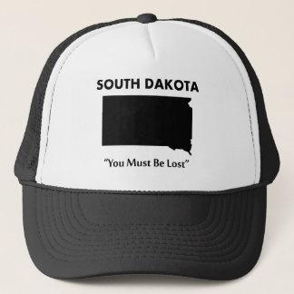 Gorra De Camionero Dakota del Sur - usted debe ser perdido