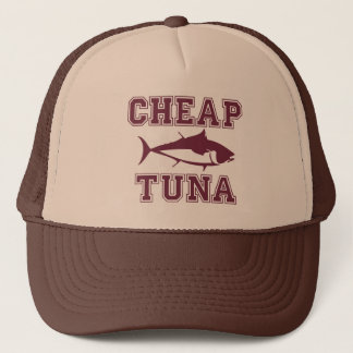 Gorra De Camionero De la pesca deportiva del atún del golpe