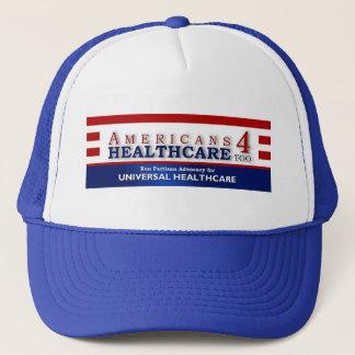 Gorra De Camionero De los americanos 4 de la atención sanitaria
