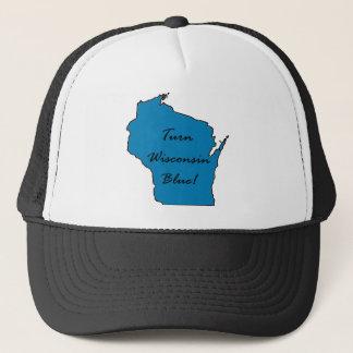 Gorra De Camionero ¡Dé vuelta a Wisconsin azul! ¡Orgullo Democratic!