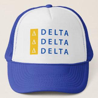 Gorra De Camionero Delta el | del delta del delta apilado