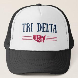 Gorra De Camionero Delta el | los E.E.U.U. del delta del delta